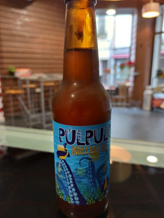 Cerveza Artesana Púlpulo IPA americana