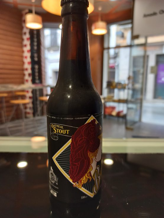 Cerveza artesana Belona Oatmeal Stout