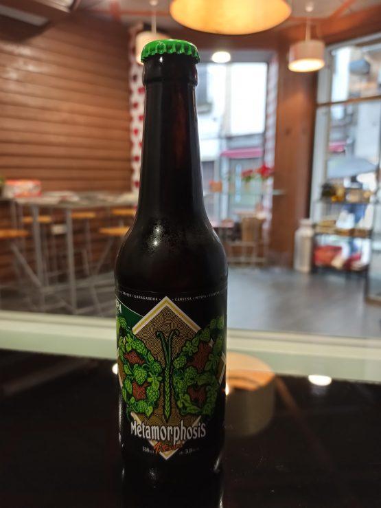 Cerveza Artesana Metamorphosis IPA Session