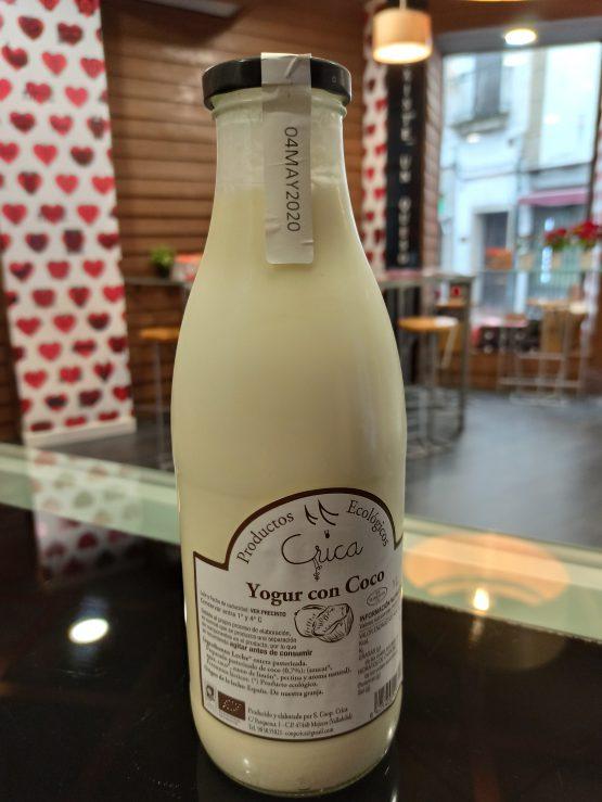 Yogur Líquido de Coco