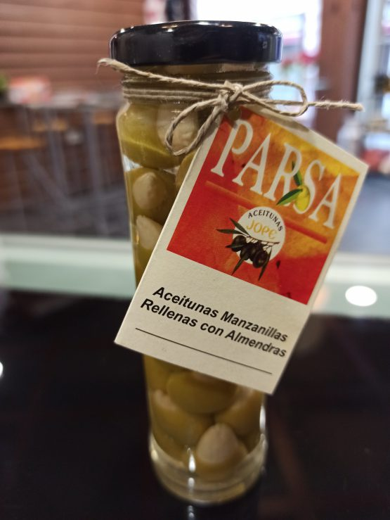 Aceitunas Manzanillas Rellenas con almendras