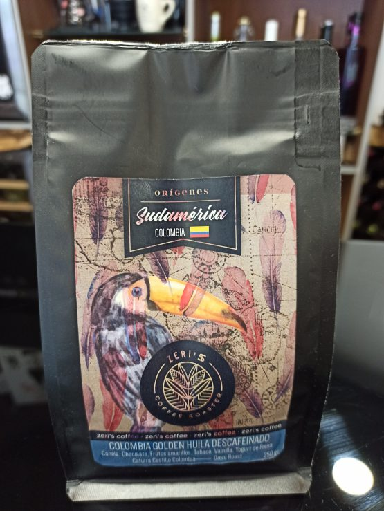 Café Colombia Golden Huila Descafeinado