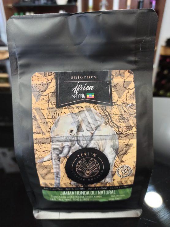 Café Etiopía Jimma Hunda Oli Natural