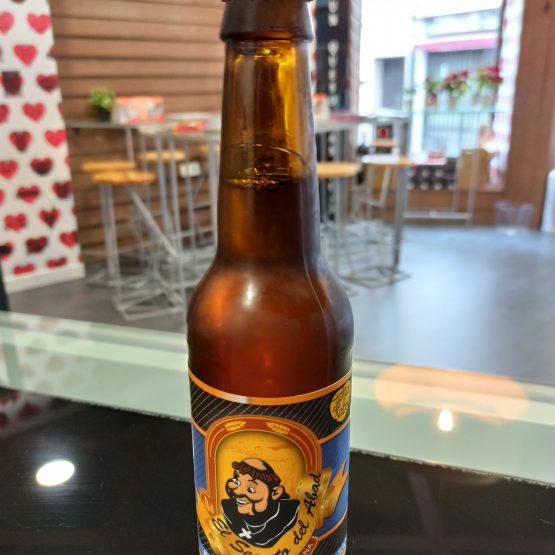 Cerveza Artesana El Secreto del Abad Saisón