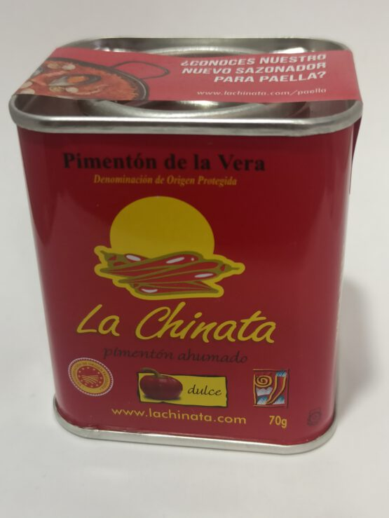 Pimentón de La Vera La Chinata Dulce