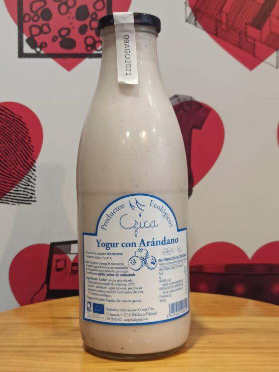 Yogur líquido de Arándanos