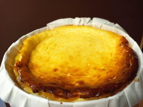Tarta de queso con requesón