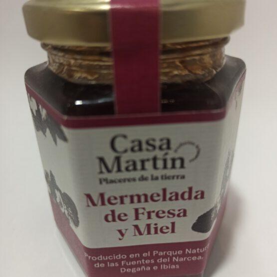 Mermelada de Fresa y Miel Casa Martín