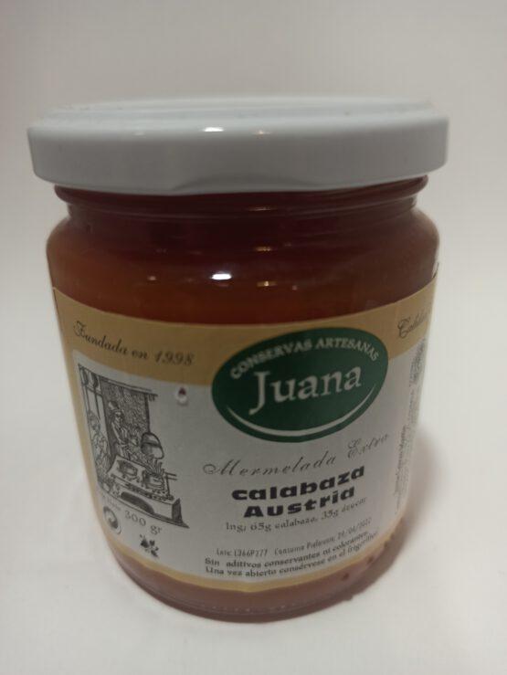 Mermelada de Calabaza Austria Juana