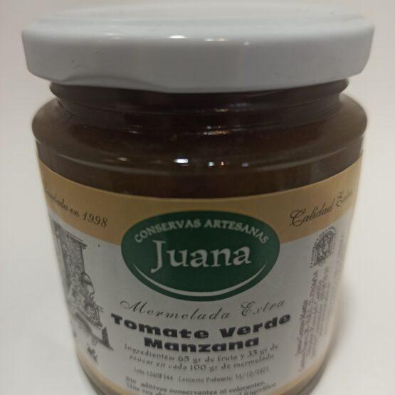 Mermelada de Tomate Verde y Manzana Juana