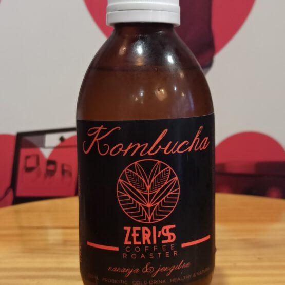 Kombucha Zeri's Naranja y Jengibre
