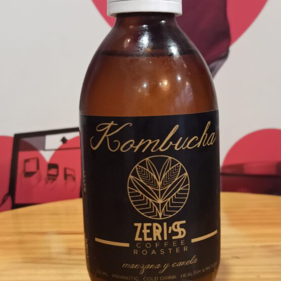 Kombucha Zeris Manzana y Canela